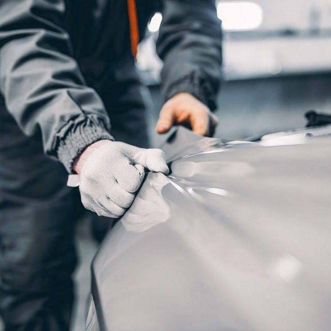 Paint Protection Film Auto Detailing